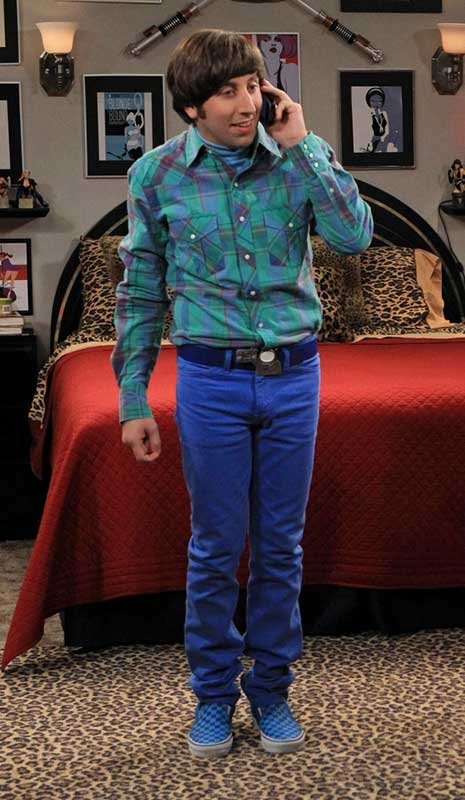 How to Dress Like Howard Wolowitz (The Big Bang Theory ...