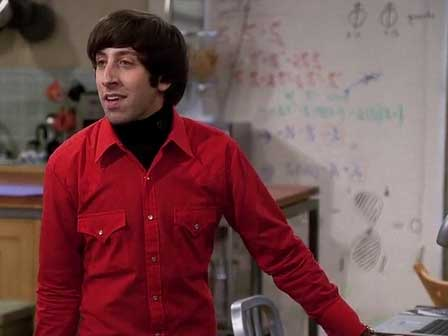 Howard Wolowitz Red Western Shirt
