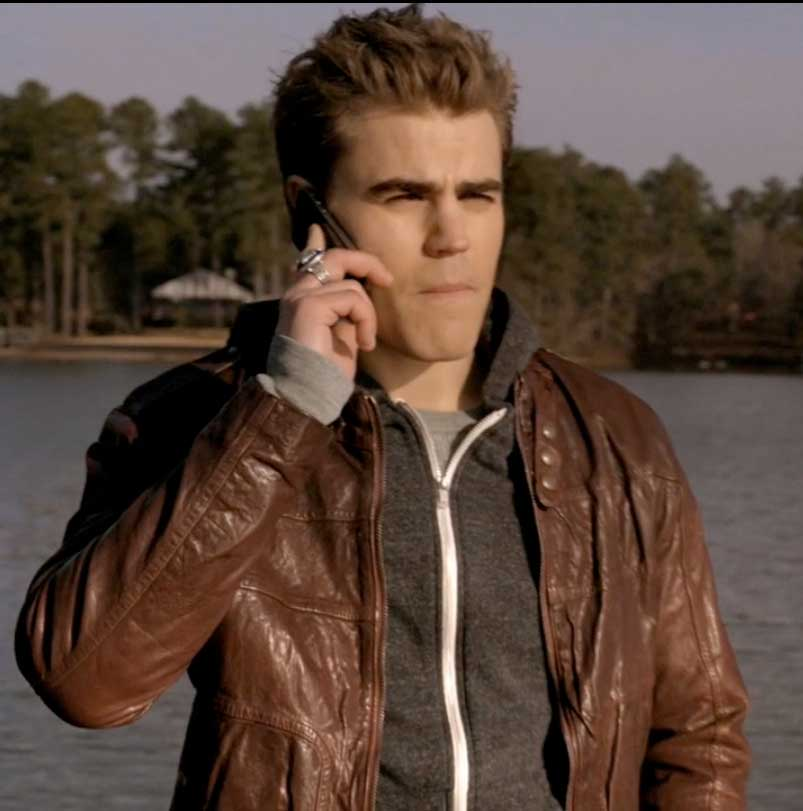 Stefan Salvatore Hugo Boss Leather Jacket