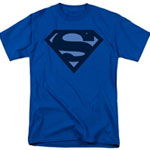 Superman Blue S T-Shirt