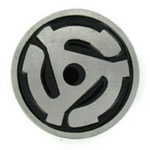 45 RPM Insert Adapter Belt Buckle