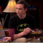 Sheldon Cooper Batman T-Shirt