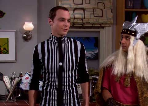 Sheldon Cooper Doppler Effect Costume The Big Bang Theory