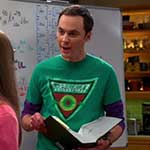 Sheldon Cooper Green Arrow T-Shirt