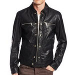 Diesel L Bunmi Leather Jacket