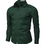 Western Green Shirt