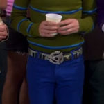Howard Wolowitz Light Blue Pants