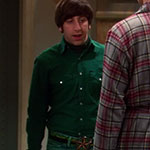 Howard Wolowitz Western Green Shirt