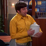 Howard Wolowitz Yellow Western Shirt