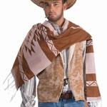 Mens Cowboy Poncho
