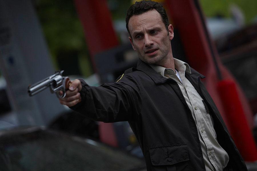 Rick Grimes Jacket & Gun