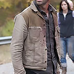 Rick Grimes Brown Denim Jacket