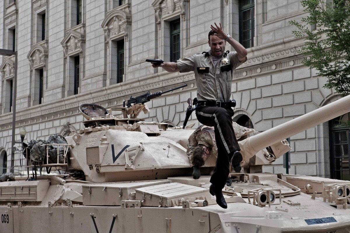 Rick Grimes Jumping Tank