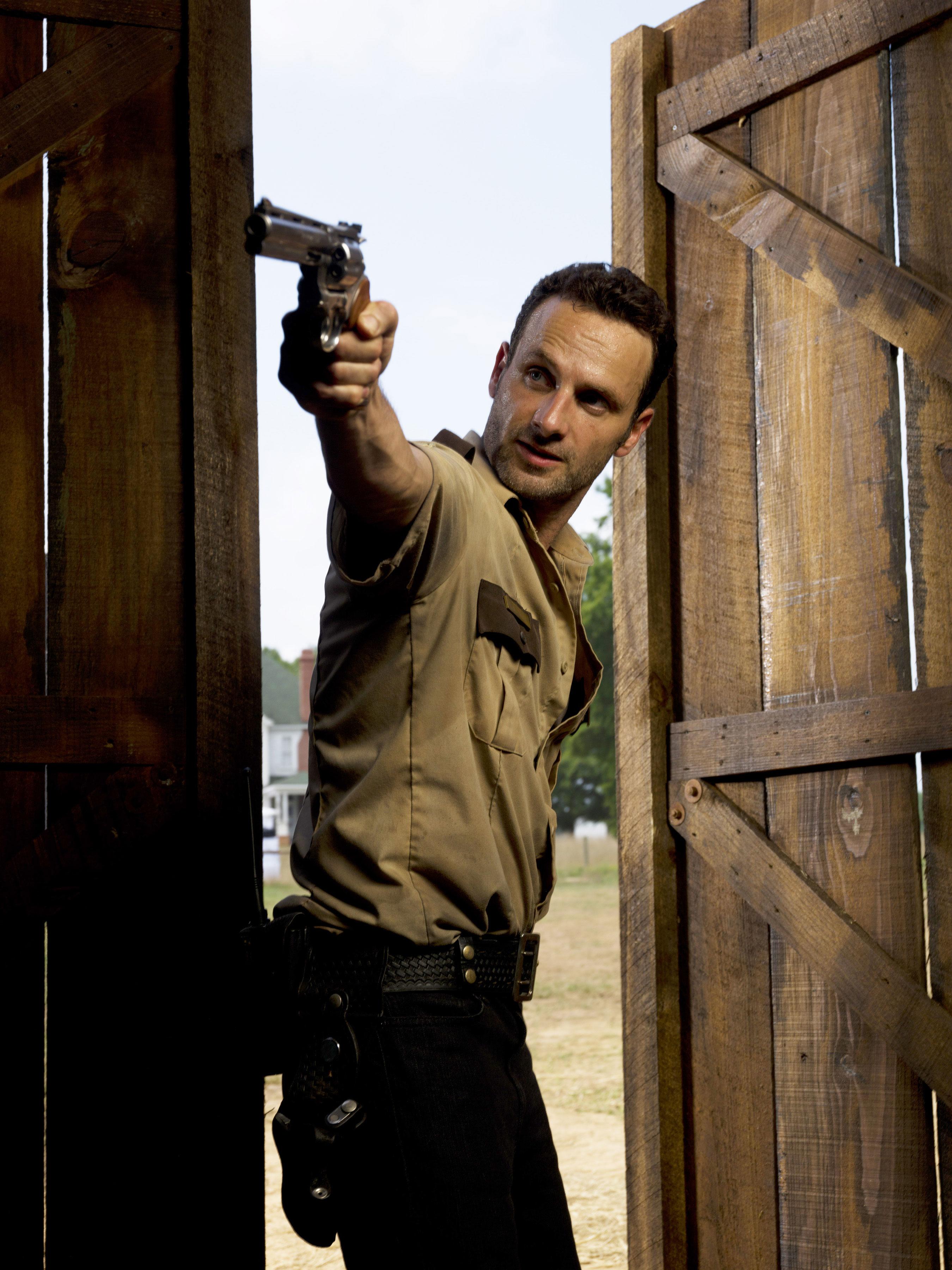 Rick Grimes Sheriff Gun
