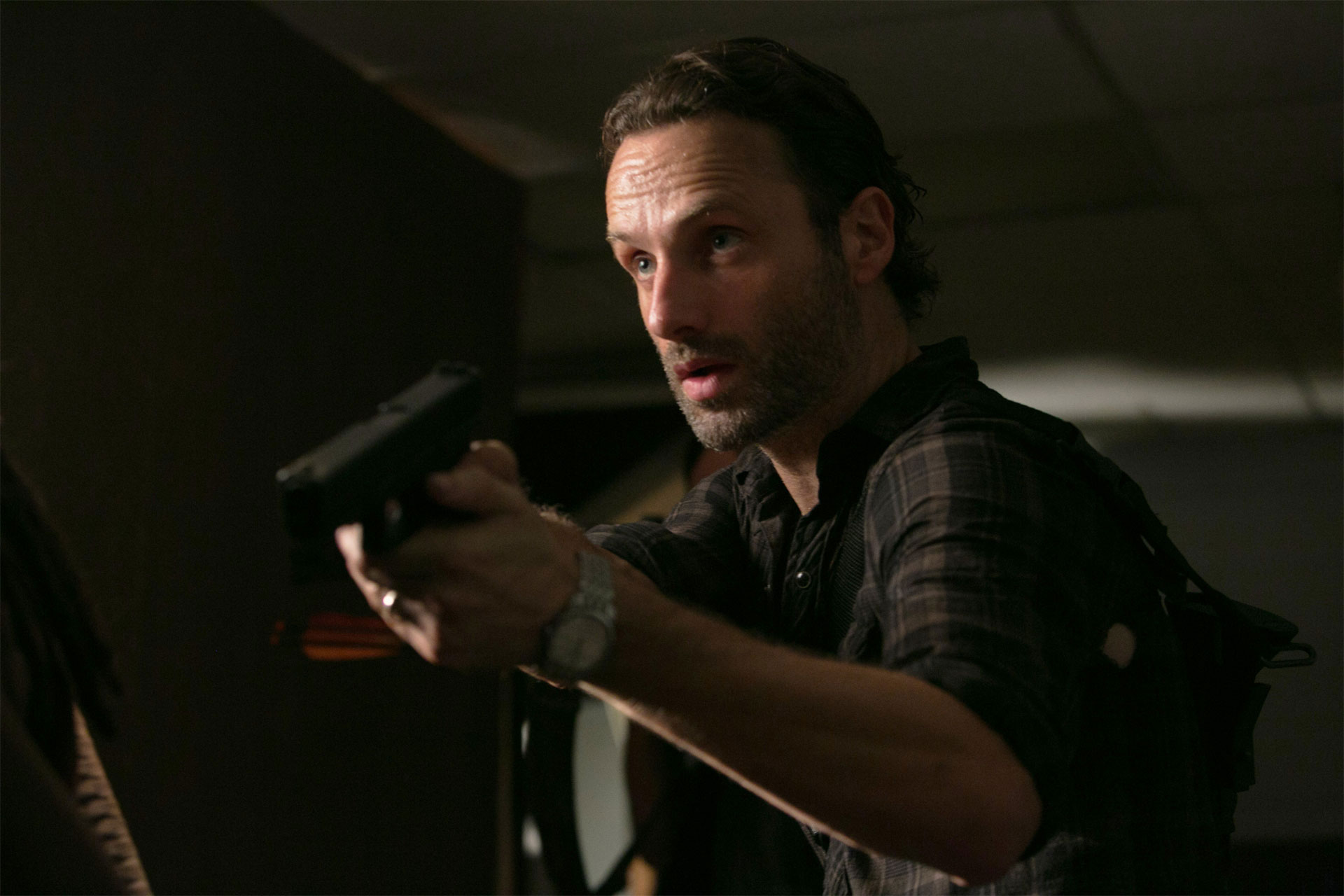 Rick Grimes Watch Gun Ring