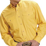Roper Yellow Western Shirt