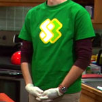 Sheldon Cooper Forest Green Undershirt