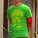 Sheldon Cooper Orange Undershirt