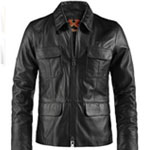 Soul Revolver Replica Damon Salvatore Leather Jacket