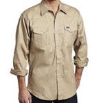 Wrangler Khaki Western Shirt