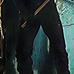 Daredevil Black Zipper Pocket Cargo Pants