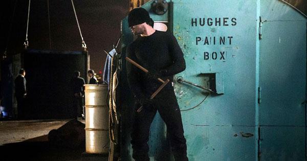 Daredevil Black Zipper Cargo Pants