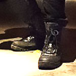 Daredevil Black Tactical Boots