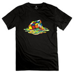 Rubiks Cube Melting Shirt