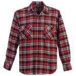 Gioberti Red Flannel Shirt