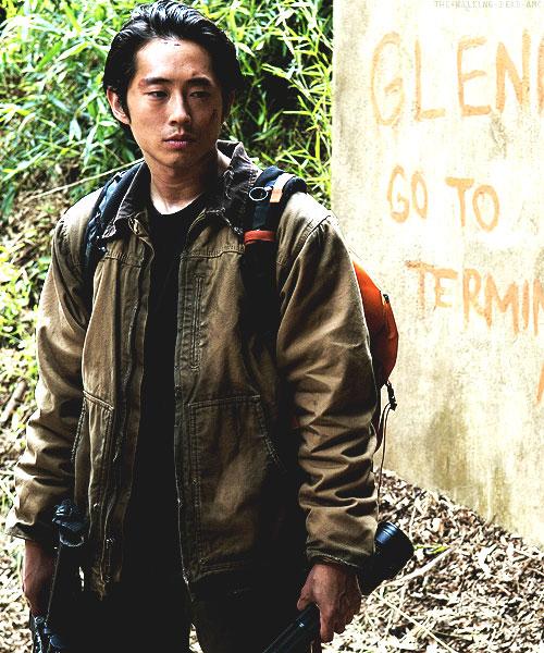 Glenn Rhee Carhartt Coat