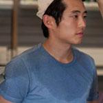 Glenn Rhee Blue T-Shirt