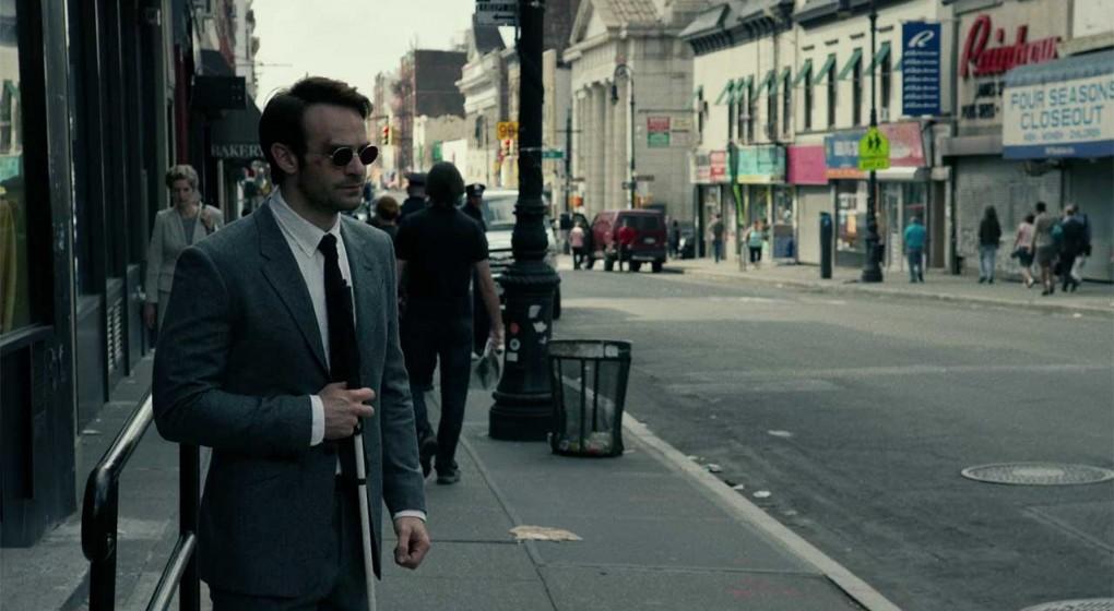Matthew Murdock Grey Suit Standing