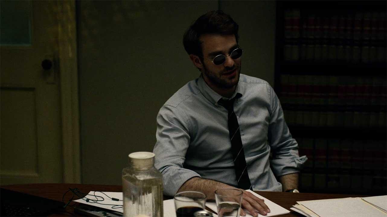 Matthew Murdock OCBD Striped Tie