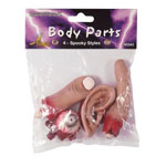 Gag Body Parts