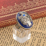 Replica Damon Salvatore Lapis Lazuli Daylight Ring