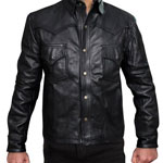 Replica of the Governors Black Leather Jacket