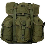Medium Alice Backpack Olivedrab
