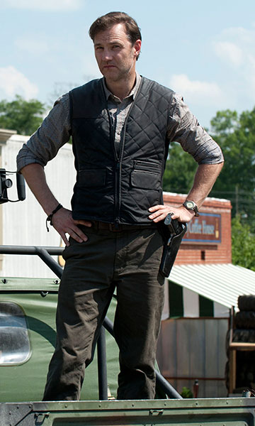 The Governor Standing with Vest