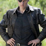 The Governor Black Leather Jacket