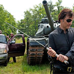 The Governor Using Michonne Katana