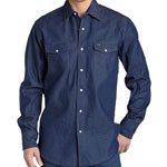 Wrangler Denim Indigo Shirt