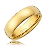 Gold Plated Wedding Band