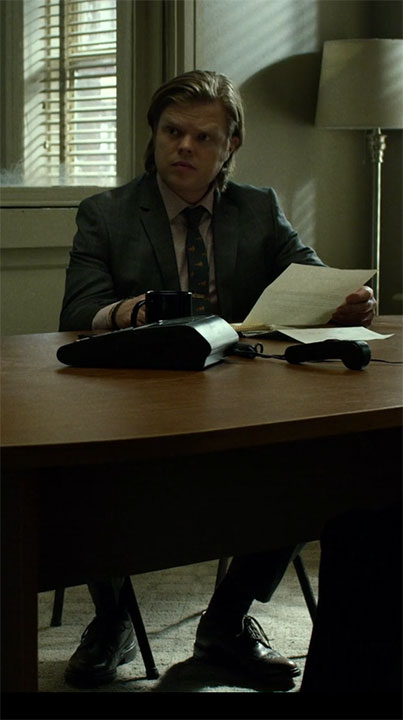 Foggy Nelson Dress Shoes and Suit