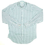 Jack Stone Green Striped Shirt