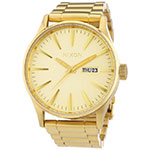 Nixon Gold Sentry Watch