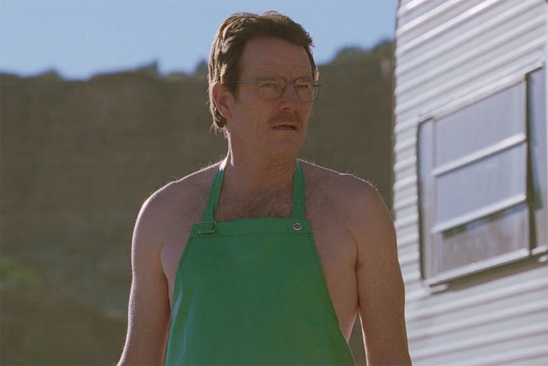 Walter White Green Apron