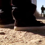 Jesse Pinkman Black White Shoes