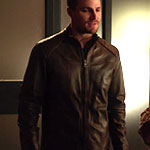 Oliver Queen Moto Jacket