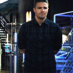 Oliver Queen Plaid Buttonup Shirt