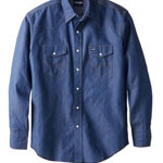 Wrangler Long Sleeve Denim Shirt
